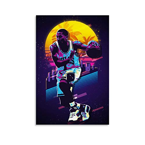 MANDN High Definition Legendary Basketball Superstar Derrick Rose Sports Poster Wall Decoration 4 Poster Decorative Painting Canvas Wall Art Living Room Posters Bedroom Painting 12x18inch(30x45cm)