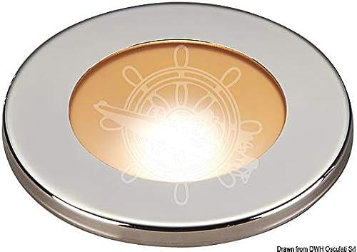 OSCULATI Spot LED encastr.réduit Polis Blanc Roug dimmerabl