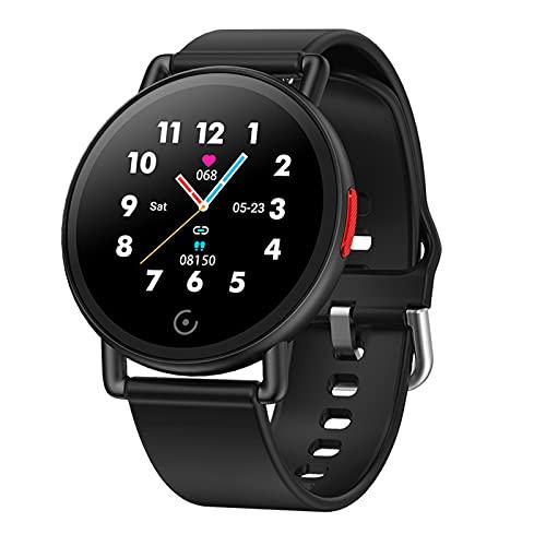 VBF Smart Watch G22 Bluetooth Fitness Tracker Color IPS Pantalla De La Presión Arterial Ejercicio Inteligente Ejercicio Fitness Pedómetro Reloj Reloj Ritmo Cardíaco para Android iOS,B