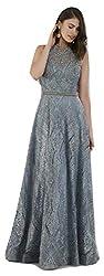 Lara 29750 - A-line Gown with Rhinestone Belt