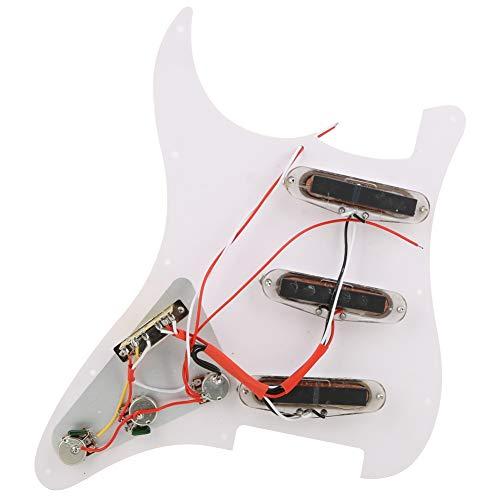 Golpeador precargado, guitarra eléctrica Humbuckers Golpeador con 3 bobinas individuales para guitarra eléctrica