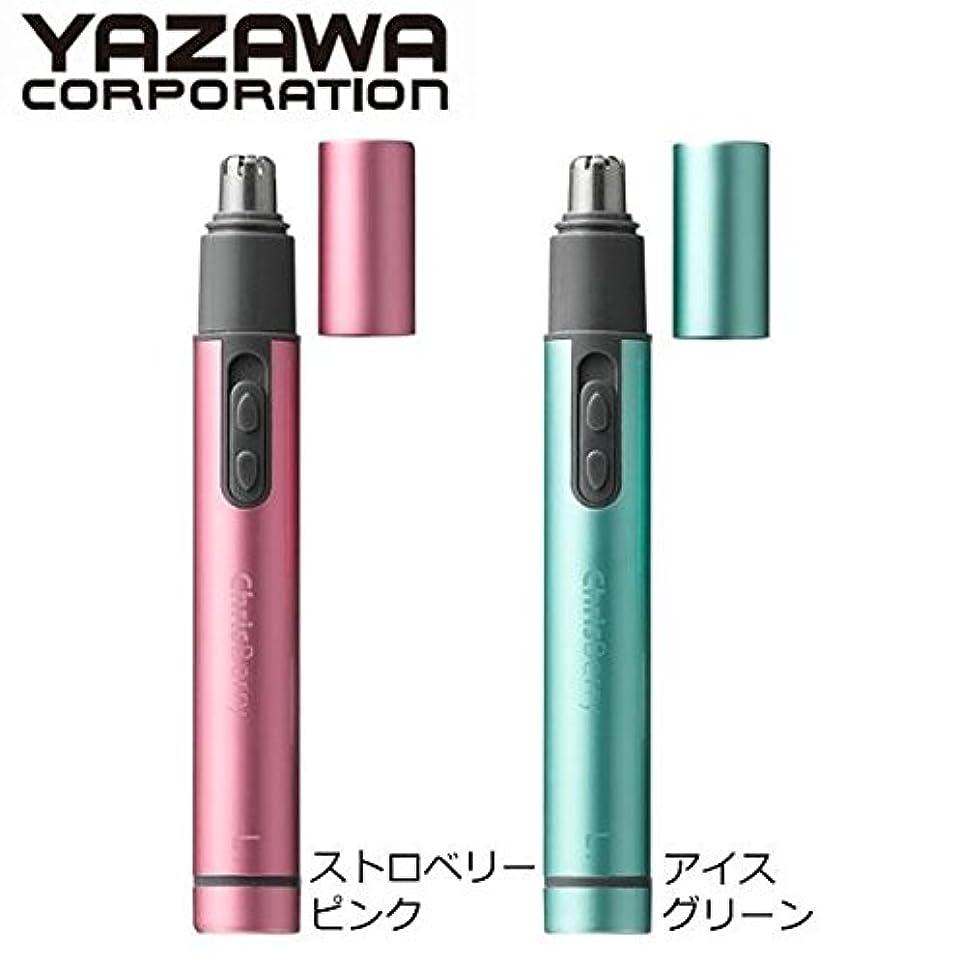 タウポ湖マイク最少YAZAWA(ヤザワ) ノーズトリマー ■2種類の内「CH311GR?アイスグリーン」のみです