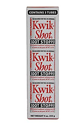 Kwik-Shot Soot Stopper, 3 oz. Toss-In Canister (3-Pack) by Rutland Products