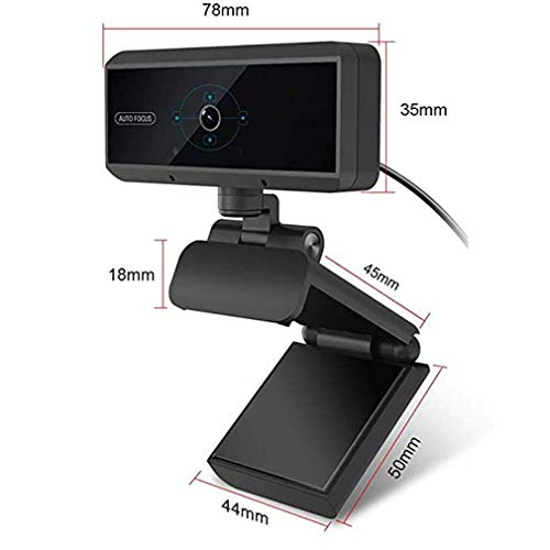 YXB USB computer high-definition camera, zes-licht nachtzicht camera computer camera, gebruikt voor thuiskantoor en video conferentie
