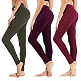 High Waisted Leggings for...