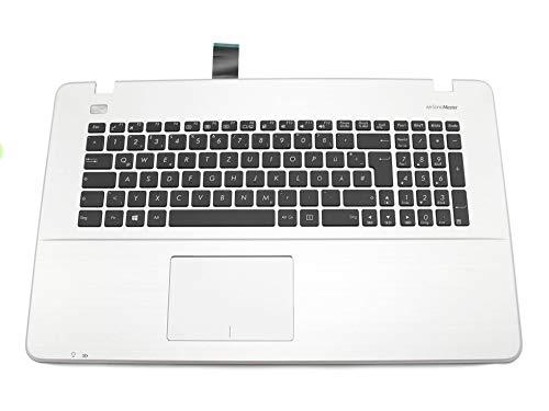 ASUS X751LAV Original Tastatur inkl. Topcase DE (deutsch) schwarz/Silber