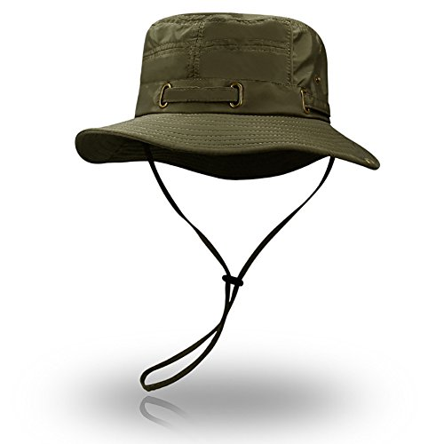 Peicees Fishing Hat Summer Sun Bonnie Hat UPF 50+ UV Protection Wide Brim Cap Water Resistant Safari Hat for Men Women Boys Girls | Perfect Bucket Hat for Adventure Hunting Camping Hiking Travel Beach