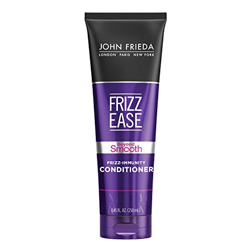 John Frieda Frizz Ease Beyond Smooth Frizz-Immunity Conditioner, Anti-Humidity Conditioner, Prevents Frizz, 8.45 Ounces, with Pure Coconut Oil