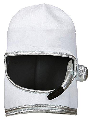 Weicher Astronauten Helm zum Kostüm - 1er Set