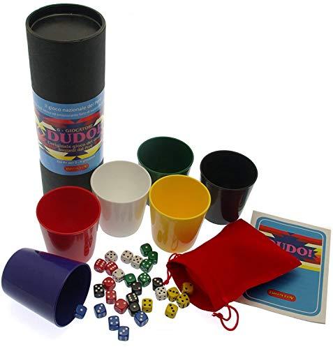 Dudo - Peruanisches Würfelspiel. Das originale Liar's Dice Spiel aus Peru - 6 Spieler