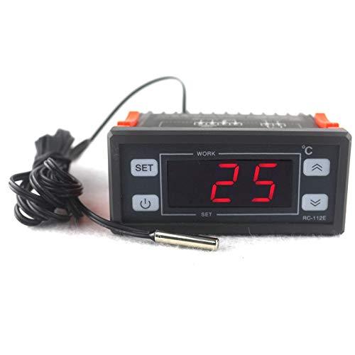 KETOTEK Digitaal Temperatuurregelaar Verwarming en koeling Led scherm Koelkast Thermostaatregelaar AC 220V 30A met NTC-sensor