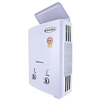 EXCEL TANKLESS GAS WATER HEATER Vent Free (LOW WATER PRESSURE STARTUP) 1.6 GPM PROPANE LPG