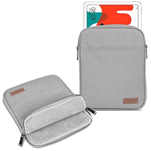 UC-Express Hülle Tasche kompatibel mit Huawei MatePad T10 / T10s Tablet Schutzhülle Schwarz Grau Cover Sleeve Hülle, Farbe:Grau (Grey)
