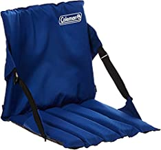 Coleman Portable Stadium Seat   Bleacher Cushion with Backrest   Lightweight Padded Seat Cushion