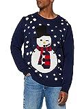 Weihnachtspullover mit Schneemann Motiv