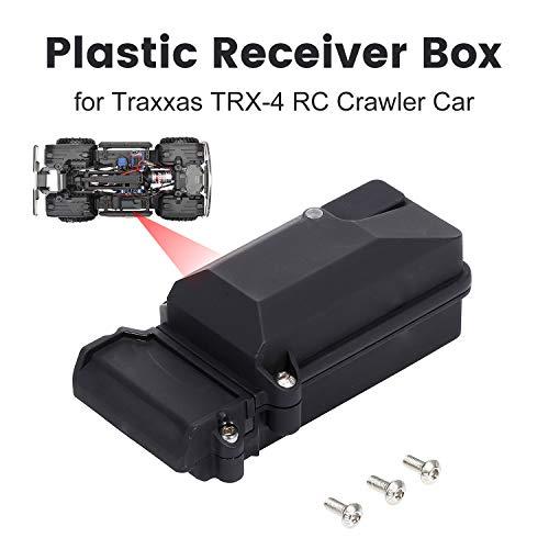 Godyluck Kunststoff Empfänger Box wasserdicht stoßfest für TRX-4 RC Crawler Car