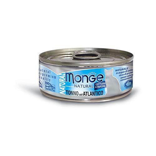 Monge Naturale Tonno Atlantico, 80 g 1 Lattina
