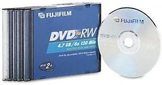 Fuji 253220054.7GB DVD-RW 5Pk