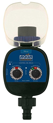 aqua center M116884 - Programador de riego con led c4099