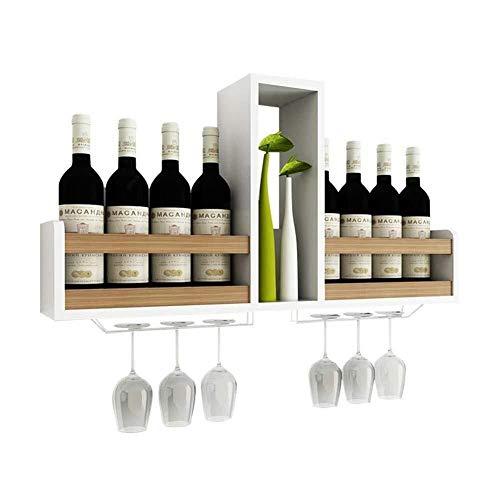 HJXSXHZ366 Estantería de Vino Estante del Vino, Tapiz Enfriador de Vino, bastidores casa de Almacenamiento de Madera, for la Barra/Bodega/sótano/gabinete Estante de Vino pequeño