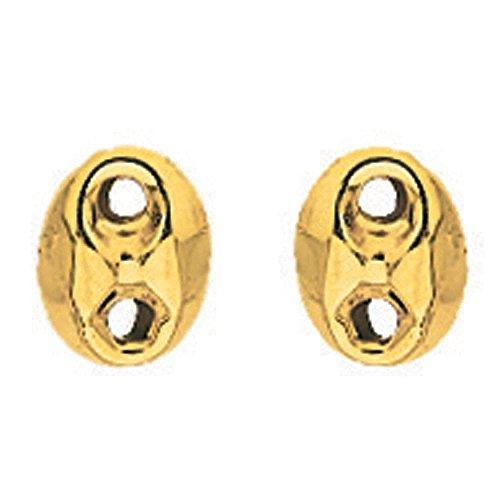 So Chic Gioielli - Orecchini Chicco di Caffè Oro Giallo 750/000 (18 carats)