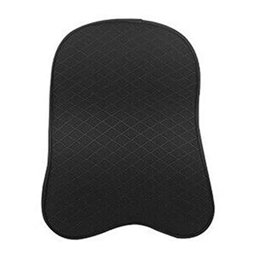 KTOO 1PC Car Seat Headrest Pad Memory Foam Pillow Head Neck Rest Support Cushion Black Large Memory Foam Headrest Pad