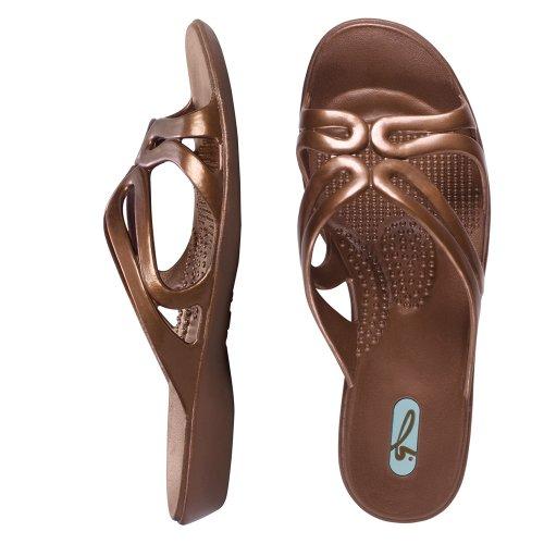 Oka-B Jasmine Spa Sandal Color Copper
