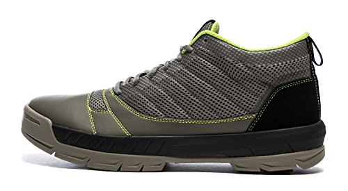 Kujo Yardwear Lightweight Breathable Yard Work Shoe Grey/Green 7.5 Men / 9 Women