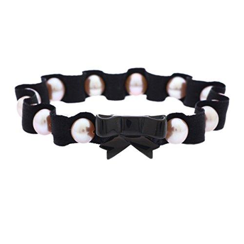 Misaki Armband schwarz Damen QCUBANAISMEDIUM Perle UVP:129,- 5648