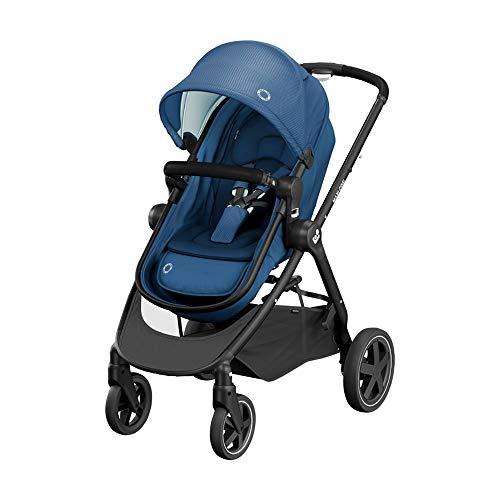 Maxi-Cosi Zelia² Cochecito 2 en 1, apto desde el nacimiento, 0 meses - 4 años, 0-22kg, Essential Blue (azul)
