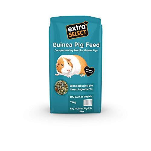 Extra Select Dry - Comida para Mascotas (Mezcla de cobayas, 15 kg)
