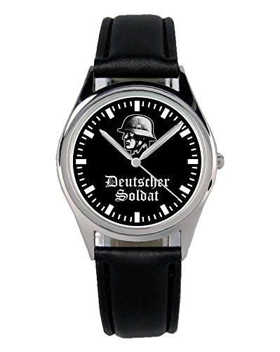 Soldat Geschenk Bundeswehr Artikel Uhr B-2146