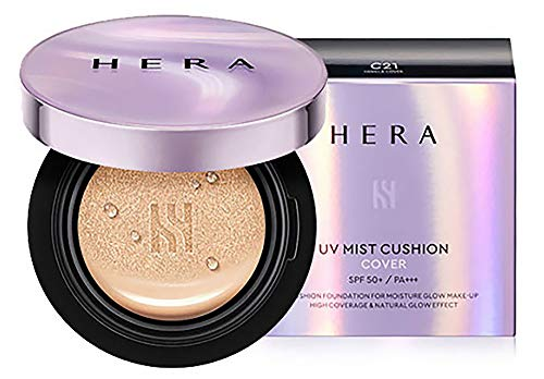 HERA UV Mist Cushion Cover SPF50+/PA+++ 15g2#C21 Vanilla Cover (2018)