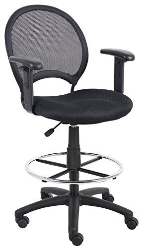 boss-office-products-mesh-drafting-stool-with-adjustable-arms-in-black