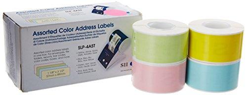 Etiqueta autoadhesiva Seiko Instruments SLP-VTL Color blanco Color blanco, 78 mm, 46 mm