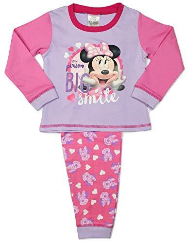 Disney Baby Mädchen Minnie Maus Schlafanzug Gr. 74 (12 - 18 Monate), minnie maus