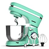 Kuppet Stand Mixers, 380W, 8-Speed Tilt-Head Electiric Food Stand Mixer with Dough Hook, Wire Whip & Beater,...
