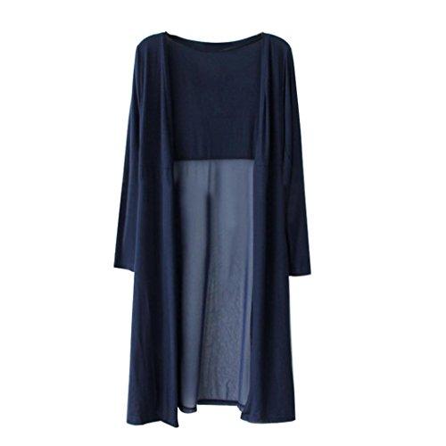 DEELIN Nuevas Mujeres De Moda Boho Beach Gasa Larga Cardigan Kimono Chaqueta Kaftan Vestido Largo