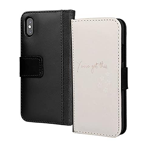 You've Got esta cartera de cuero de la PU en la cubierta de la caja del teléfono de la tarjeta para Huawei P30 Pro
