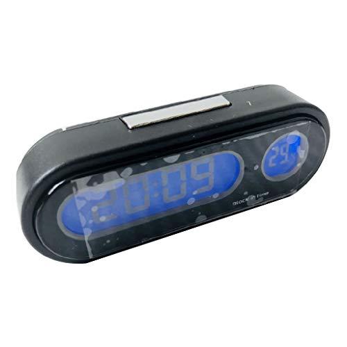 Mini termómetro digital 2 en 1, decoración para coche