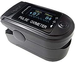 CONTEC パルスオキシメーター CMS50D (ブラック)