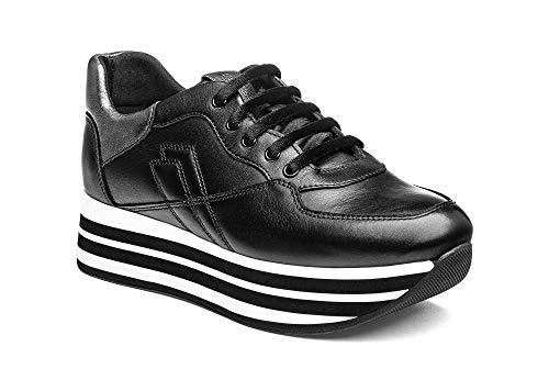 FRAU Sneakers Nero Platform Scarpe Donna 5524 39