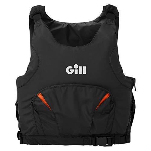 Gill Junior Pro Racer Side Zip 50N Kayak Dinghy Sailing PFD Drijfhulpmiddel voor watersport - Oranje - Unisex