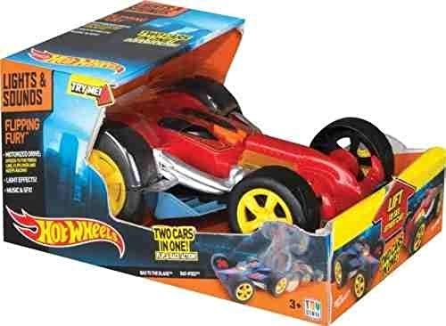 calidad de primera clase Hot Wheels Light n Sound Sound Sound Flipping Fury Vehicle by Hot Wheels  preferente