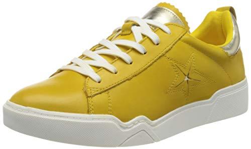 Tamaris Damen 1-1-23754-24 Sneaker, Gelb (Saffron/L.Gold 658), 36 EU