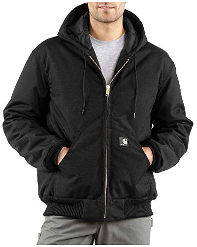 Carhartt Men's Arctic Quilt Lined Yukon Active Jacket,Black,Medium