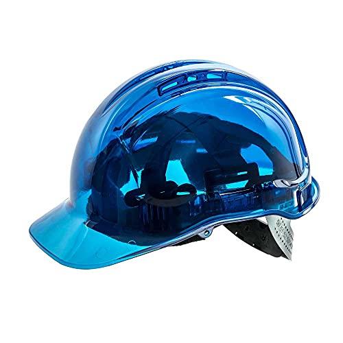 Portwest PV50Casque de chantier, sdt, bleu