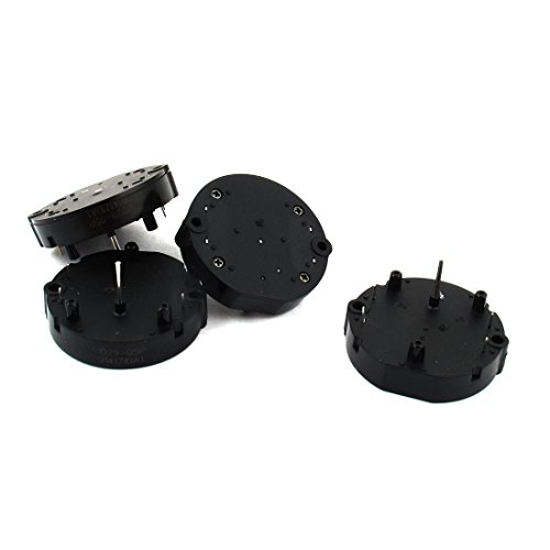 uxcell 4Pcs Black Dashboard Instrument Stepper Motor VID29-05P for Auto Car
