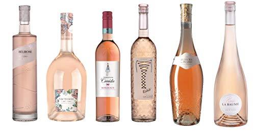 Coffret Dégustation - Assortiment de 6 Vins Rosé de...