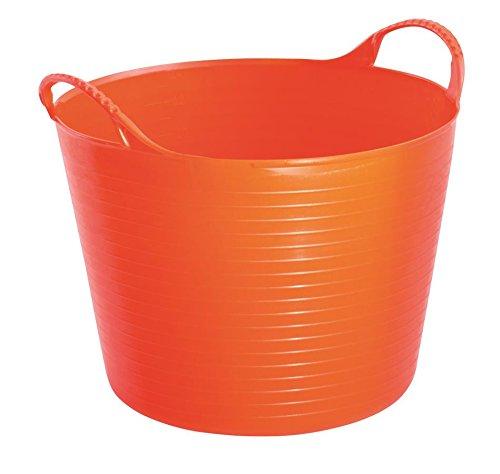 TubTrug SP14O Small Orange Flex Tub, 14 Liter